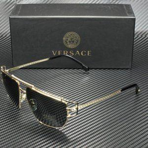 Versace 57mm Gold Men's Sunglasses